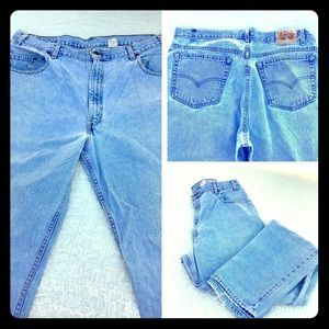 Vintage 80s Levi's Loose Fit 40/35 Time Distressed